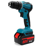 10000mAh Cordless Brushless Impact Drill Electric Wrench Adatped To Makita Battery with LED Working Light
