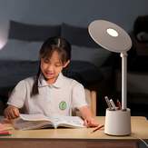 Baseus Reading Light Full Spectrum Dual Light Source AAA Smart Touch Reading and Writing Desk Lamp