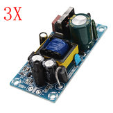 3pcs AC-DC 5V 2A Switching Power Supply Board Low Ripple Power Supply Board 10W Switching Power Supply Module