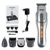 5 in1 Mutifunction Electric Hair Clipper Rechargeable Washable Nose Hair Beard Trimmer Shaver