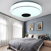 33CM 36W musique bluetooth LED plafonnier RGB étoile haut-parleur stéréo lampe avec télécommande AC170-265V / 85-265V