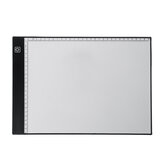 A4 LED Drawing Board with Scale Tracing Light Art Stencil Board Drawing Copy Pad Board Tracing Board LED Drawing Tablet