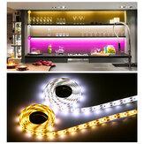 0,5 / 1/2/3/4 / 5M USB LED Luzes de tira Stepless escurecimento lâmpada de decoração para casa + controle remoto