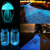 DIY Luminous Glow Kies Nachtleuchtende Sand Aquarium Aquarium Fluoreszierende Partikel Party Dekorationen