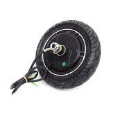 24V/36V/48V 8inch Brushless Hub Motor Toothless Wheel For Electric Scooter Skateboard