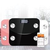 Intelligent Body Fat Scale App Smart Wireless Scale for Body Weight Body Fat Water Muscle Mass BMI Bone Mass Visceral Fat etc