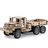 Doublee CaDA Remote Truck Toy Building Blocks Toys Model Large Off-Road Wireless Electric Truck Boy Gift