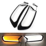 Copertura faro LED indicatore di direzione Trim colore doppio per Ford Ranger T6 Wildtrak 2015-2018