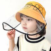 Dziecięce / małe dzieci (4-7 lat) Zdejmowana ochronna czapka z daszkiem
