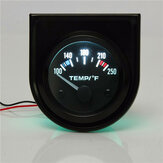 2 inch 52mm 100-250 graden F Auto Auto Water Temperatuurmeter Backlight 12V