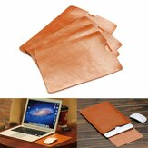 Pokrowiec z PU Leather Case Cover For Macbook 11 12 13 15 Inch