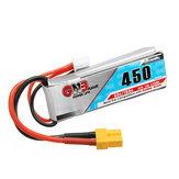 Gaoneng GNB 7.4V 450MAH 80C 2S Lipo Batteria XT30 Spina