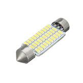 Festeon per interni a LED per auto Dome Lampadina per lettura Lampada da tetto bianca Piatto lampada 31mm / 36mm / 39mm / 41mm