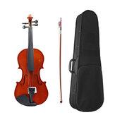 Violino 4/4 acústico com arco Caso para iniciantes em violino