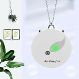Wearable Mini Air Purifier Necklace Portable Negative Ion Generator Verwijder PM2.5 Formaldehyde