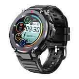 [chamada bluetooth] Bakeey S25 24h Coração Monitor de taxa Reprodução de música Modos multi-esporte Contagem regressiva BT5.0 Smart Watch