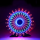 Geekcreit® Ferris Wheel نموذج موسيقى Spectrum DIY Kit Electronic 51 رقاقة واحدة Colorful LED Flash