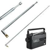 Pełnokanałowa antena radiowa AM FM antena teleskopowa zamienna 63 cm długość 4 sekcje