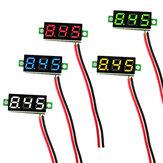 Geekcreit® 0.28 Inch 2.5V-30V Mini Digitale Voltmeter Spanningstester Twee Lijn Voltmeter