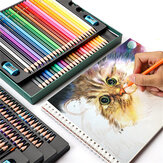 OBOS Water Soluble Color Pencil Set 48/72/120/200 Color Professional Color Lead Brush Hand-painted Drawing Sketching Colored Pencil