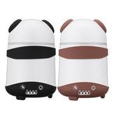 二重加湿器空気オイルディフューザーアロマミストメーカーLED漫画Pandaホームオフィス用スタイルUSプラグ