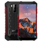 Ulefone Armor X5 Pro 5,5 polegadas NFC IP68 IP69K à prova d'água 4GB RAM 64GB ROM 5000mAh MT6762 Octa Core 4G Smartphone robusto