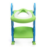 Kids Trainer Toilet Potty Soft Padded Seat Chair Ladder Step Up Training Small Household Travel Outdoor Chair Supplies