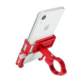 Aluminum Alloy Bike Bicycle Motorbike Handlebar Phone Holder With Silicone Strap For 3.5 inch-6.2 inch Smart Phone