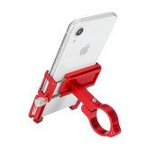 Aluminiumlegierung Fahrrad Fahrrad Motorrad Lenker Telefonhalter mit Silikonriemen Für 3,5 Zoll-6,2 Zoll Smartphone