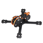 Everyine Tyro79 140mm 3 بوصة DIY رواية FPV Racing Frame Kit 3mm Arm Carbon Fiber