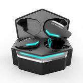 Langsdom G30 Dual Mode bluetooth TWS LED Наушник Игровые наушники с RGB-подсветкой и гарнитурами с низкой задержкой