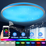 30W WiFi LED Ceiling Light Round Intelligent Lights Colorful Wireless Wall Lamp Home Supports Alexa Google Home