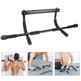 Indoor Fitness Door Frame Pull Up Bar Wall Chin Up Bar Adjustable Training Horizontal Bar For Home Workout Equipment