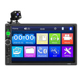 iMars 7010B 7 Inch Car MP5 Player Stereo Radio 2DIN FM USB AUX HD bluetooth Touch Screen with Backup Camera