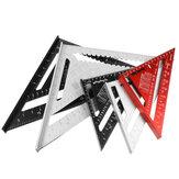 Régua triangular em liga de alumínio 7