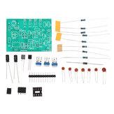 555 Peças de gerador de forma de onda multicanal que soldam Kit eletrônico de treinamento DIY