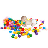20 Pcs Colorful Plastic Ocean Ball Baby Kids Toys Swim Pit