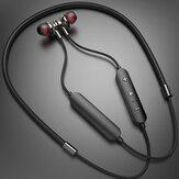 Bakeey W200 Sport-nekband Draadloze headset Oordopjes IPX5 Waterdichte magnetische ruisonderdrukkende oortelefoon met microfoonvolumeregeling