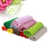 Neugeborenes Baby Soft bunten Tuch Fotografie Hintergrund Foto Props