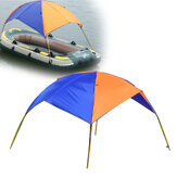 IPRee® Sun Shelter Fishing Tent Opblaasbare boot Rubberboot voor 2 personen Bootvaart