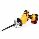 21V Cordless Reciprocating  w/ 4 Blades Electric Cutting Recip Prunning