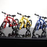 1:10 3D Mini ruota in lega multicolore da corsa per bicicletta da bicicletta Ruota modellino giocattolo per regalo decorazione