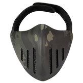 ACTION UNION MK036 TPU Taktische Maske Outdoor Jagd Radfahren Sport Masken Mit Kopfbedeckung-Tarnung