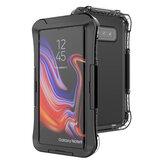 2-EN-1 al aire libre Natación Surf IP68 Impermeable PC transparente a prueba de golpes Protector de cuerpo completo Caso para Samsung Galaxy S10 Plus / Note 10 / Note 10/S8/S8 Plus / S10e
