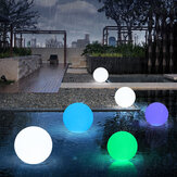 Waterproof LED Garden Ball Light RGB Underwater light IP68 Outdoor Christmas Decorations Wedding Party Lawn Lamps Swimming Pool Floating