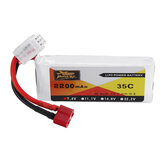 ZOP Power 7.4V 2200mAh 35C 2S Lipo Battery T Plug for 10428 10428A/B/C/A2/B2/C2 K949 RC Car