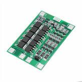 10 Uds 3S 40A Li-ion litio Batería Placa de protección del cargador PCB BMS para Taladro motor 11,1 V 12,6 V módulo de celda Lipo con equilibrio