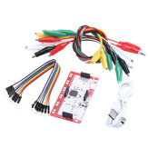 Alligator Clip Jumper Wire Standard Controller Board Kit for Makey Makey Science Toy