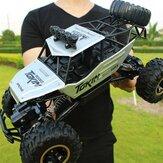1/12 4WD 2.4G Lega di metallo Big Foot Crawler RC Modelli di veicoli per auto