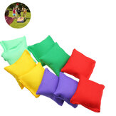 10 Pcs  Nylon Bean Bags Children Family Throwing Sandbag Ball Camping Gargen Sport Game